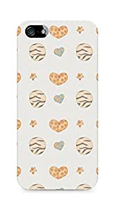 Amez designer printed 3d premium high quality back case cover for Apple iPhone 5 (Cute Pattern)