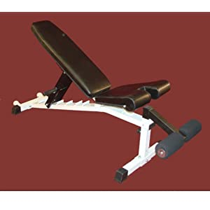 Flat Incline & Decline Bench with Wheels