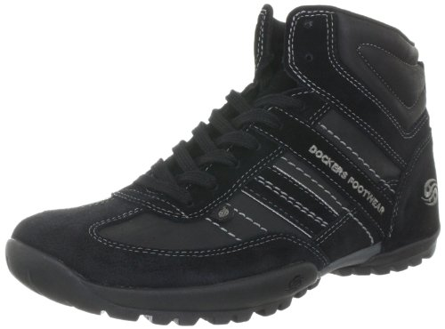 Dockers 312531-350001 Boots Mens Black Schwarz (schwarz) Size: 10 (44 EU)