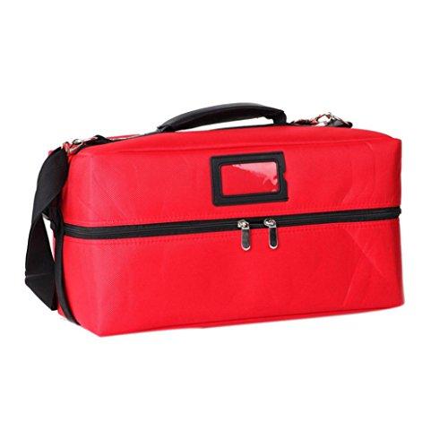 Eenkula Beauty Case Cofanetto Trucco Make Up Bagaglio Valigia sacchetto dell'organizzatore borsa da viaggio