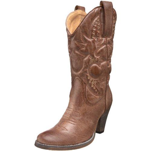 Volatile Women's Denver Boot,Tan,8.5 M US