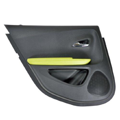 2011 CHEVY VOLT LEFT REAR INTERIOR DOOR TRIM PANEL GREEN 22805159 22778339