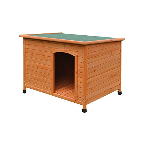 ALEKO® DH46X31X31WD Large Weatherproof Dog Kennel Pine Pet Shelter with Elevated Floor 46 X 31 X 31 Inches (Elevated Dog House compare prices)