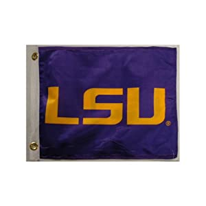 NCAA LSU Fightin Tigers Boat/Golf Cart Flag