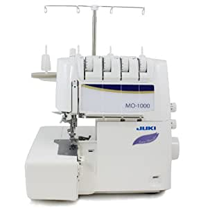 Juki MO-1000 Serger, Push Button Jet Air Looper Threader