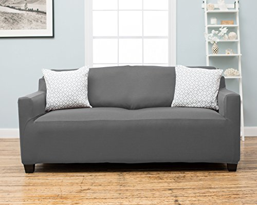 cover by home fashion designs sofa grey garden decor slipcovers