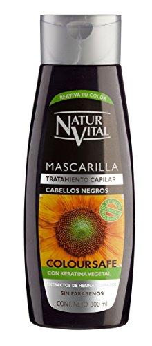 Naturaleza y Vida Maschera Colore Capelli Neri - 300 ml