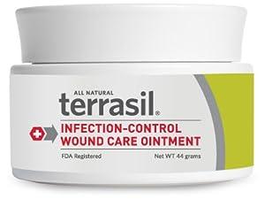 Terrasil Wound Care Antiseptic Ointment (44 gram jar)