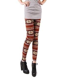 HOT 2012! NEW Fashion Women Warm Snowflakes Leggings Tights Pants