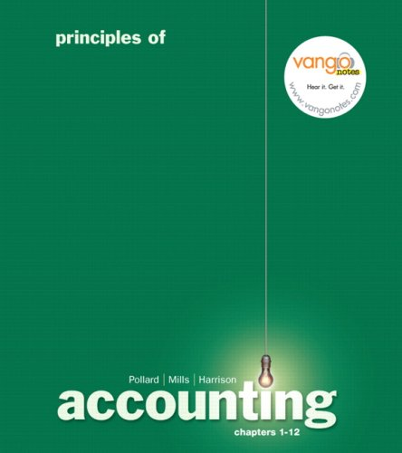 Principles of Accounting FINANCIAL Ch 1-12