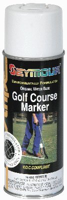 Golf Course Stripe Markers - GOLF COURSE MARKER - WHITE