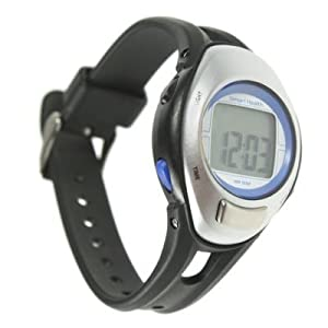 Smart Health Heart Rate Monitor Pedometer Watch Step Counter Exercise Fitness