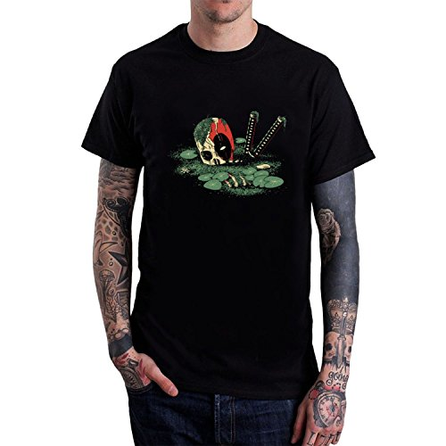 Men's Dead Pond O-Neck tshirt M Black hot short sleeves (Mcfarland Movie Trailer compare prices)