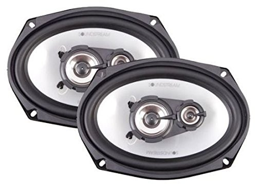 "Soundstream Sf-573T 5"" X 7"" Arachnid Series 3-Way Car Speakers"