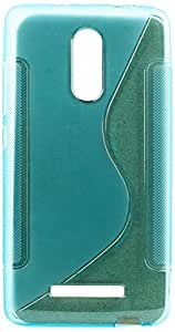 Purple Eyes New Sline Silicon Back case for Xiaomi Redmi Note 3 (Blue)
