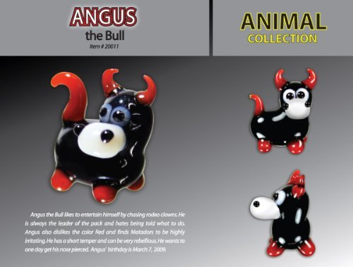Looking Glass Angus The Bull Toy - 1