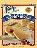 Pioneer Brand Whole Grain Baking & Bisquit Mix 7 Oz (Pack of 6)