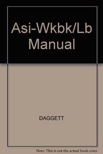Workbook/Lab Manual for Asi!
