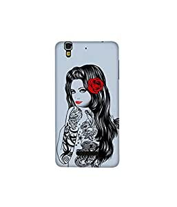Kolor Edge Printed Back Cover for Micromax Yureka - Multicolor (4397-Ke10189MmxYurekaSub)