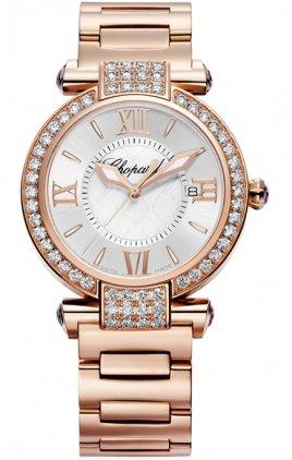 Chopard Women's Imperiale Rose Gold Diamond Watch 384221-5004