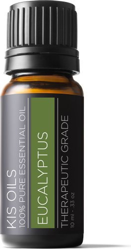 Eucalyptus 100% Pure Essential Oil Therapeutic Grade- 10 Ml (Eucalyptus, 10ml)