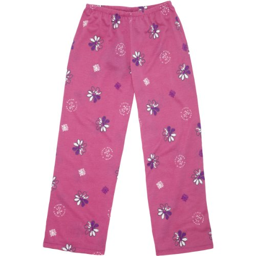 Life Is Good Flower Sleep Pants, Hot Fuchsia, Xx-Small front-695412