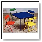 table with folding legs