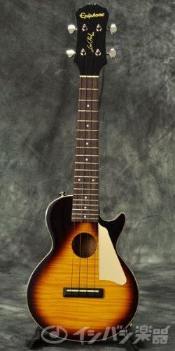 Epiphone Les Paul Acoustic/Electric Concert Ukulele Vintage Sunburst