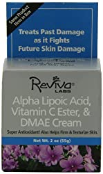 Reviva Labs Alpha Lipoic Acid Vitamin C Ester and Dmae Cream, 55g