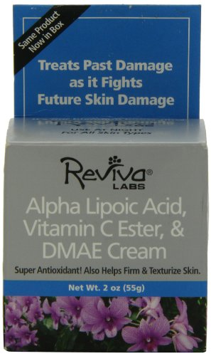 Reviva Alpha Lipoic Acid, Vitamin C Ester, and DMAE Cream 2 oz