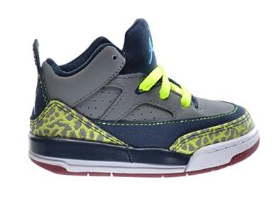 Buy Jordan Son Of Low (TD) Baby Toddlers Basketball Shoes Cool Grey Blue-Navy-Team Red... by Jordan