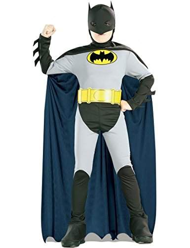 Rubies Costume Co R882210-L The Batman Childrens Costume Size Large
