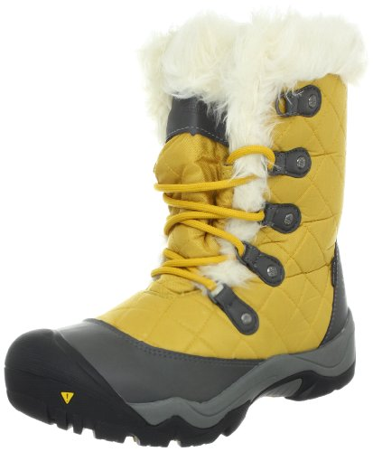Keen 1007894, Stivali da neve donna, Giallo (giallo), 37 EU / 6.5 US