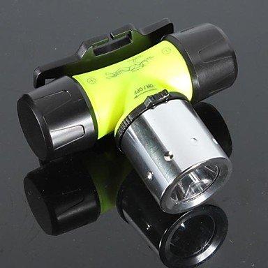 Zcl Lt-Bg T6 Diving 3-Mode 1¡Ácree T6 Led Flashlight (1000Lm,3¡Áaaa/1¡Á18650 3.6V/3.7V Green) , Green