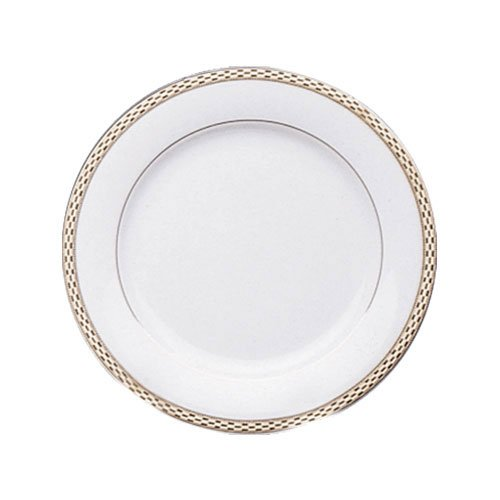 10 Strawberry Street SORR00046 Sorrento SaladDessert Plate Set Of 6 White