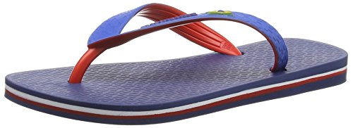 IpanemaBrazil Bicolor Unisex - Infradito Unisex - Adulto , Multicolore (Mehrfarbig (blue red 8175)), 41/42