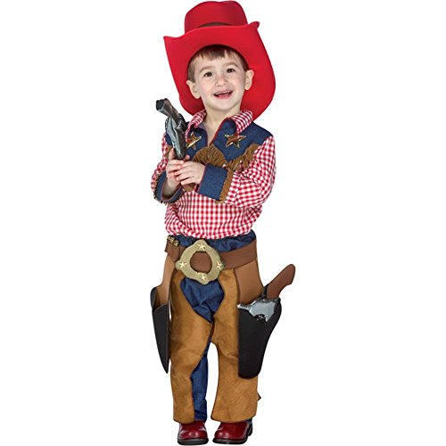 Toddler Texas Cowboy Costume (Size:2-4T)