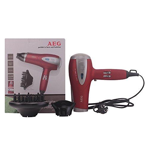 AEG HTD 5584 - Secador profesional 2200W, color rojo