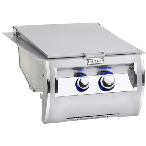 Fire Magic Echelon Diamond 32884-1 Built-In Double Searing Station with Side Burner (Fire Magic Double Burner compare prices)