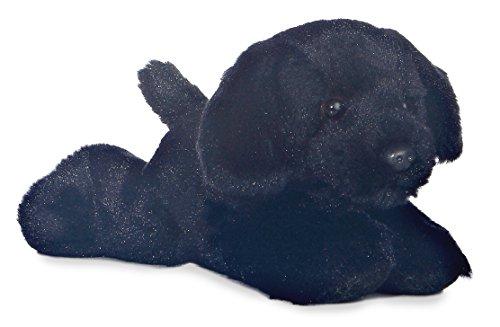 """Mini Flopsie Black Black Lab 8"""" by Aurora"""