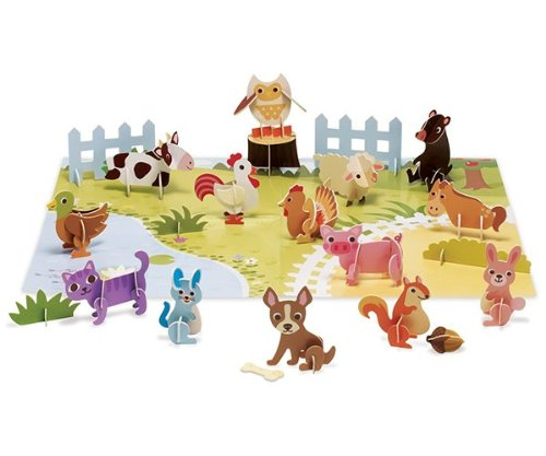 Imagine I Can Farm Fun Minis Play Set - 1
