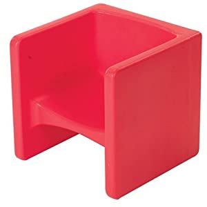Amazon Cube Chair Red Kitchen & Dining