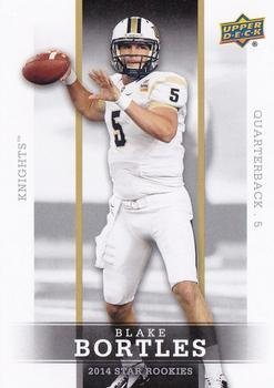Blake Bortles - UCF Knights / Jacksonville Jaguars (RC - Rookie Card)(Football Cards) 2014 Upper Deck Star Rookies #30