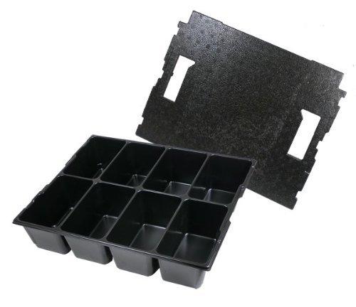 Bosch Sortimo matériel insert 8 bacs avec couvercle liner - 136 Gr. 2