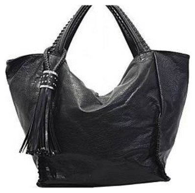 Black Bessie Laced Bucket Bag - 172