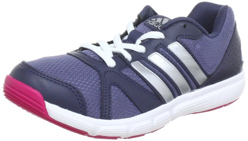 Adidas Performance Women's Navy/Silver Essential Star II Gymnastics Shoes 8 UK