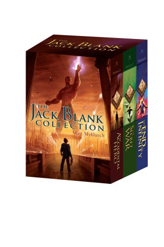 The Jack Blank Collection: The Accidental Hero/The Secret War/The End of Infinity (A Jack Blank Adventure)