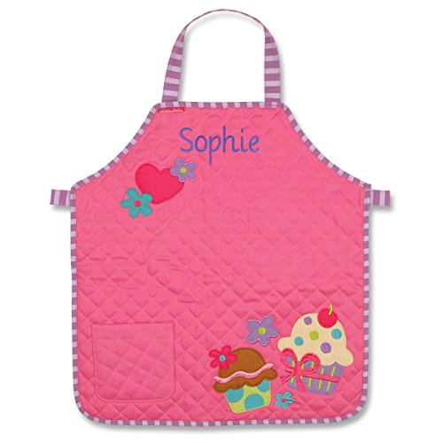 Personalized Stephen Joseph Quilted Cupcake Apron with Embroidered Name