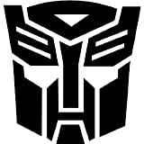 TRANSFORMERS AUTOBOT - Car, Truck, Notebook, Vinyl Decal Sticker #1036 | Vinyl Color: Black