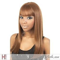 Dubai (Motown Tress) Heat Resistant Fiber Full Wig In 1 B